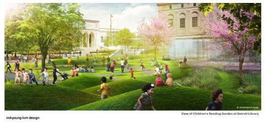 A sculptural landscape forms part of Mikyoung Kim's vision.