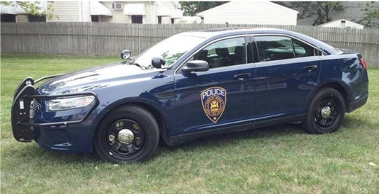 Garden City Police vehicle