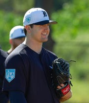 Casey Mize was the No. 1 overall draft pick in 2018.
