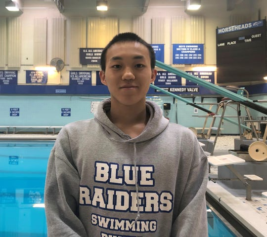 Horseheads High School senior swimmer Shoonhsin Li qualified for the state championship meet for the fifth time in 2019.