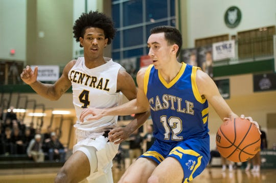 Castle's Alex Hemenway (12) was named to compete in the North-South All-Star Classic on April 6 at Martinsville.