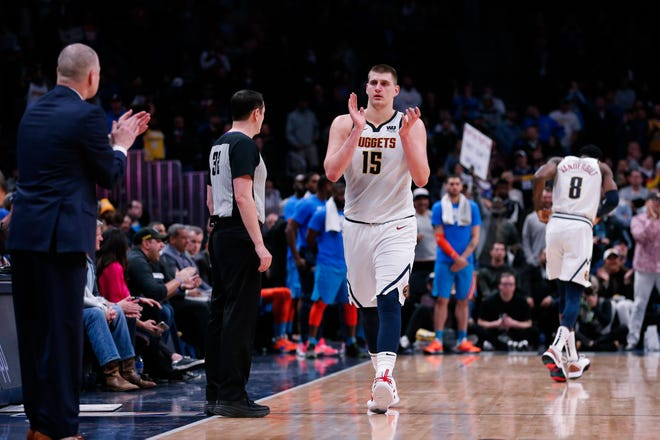 The Denver Nuggets open the playoffs at 8:30 p.m. Saturday at home against San Antonio.