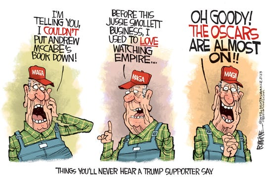 Trump Supporter Commentary by Rick McKee