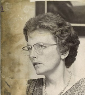 Shirley Ann Coulter Terlaje photographed in 1975.