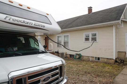 The Edison Wetlands Association and Groundswell Technologies, Inc. use their mobile lab to continuously monitor air samples for hazardous vapors from the soil at home in Franklin Indiana which is part of an at-risk water plume on Wednesday, Feb. 27, 2019. Nearly 60 children in Johnson County have been diagnosed with rare forms of blood and brain cancer in the last 10 years, and almost half are in Franklin.