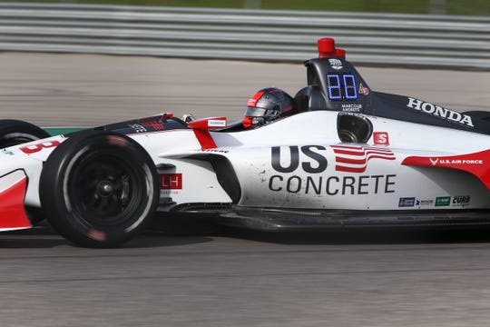 IndyCar will use a new LED display system on cars in 2019.