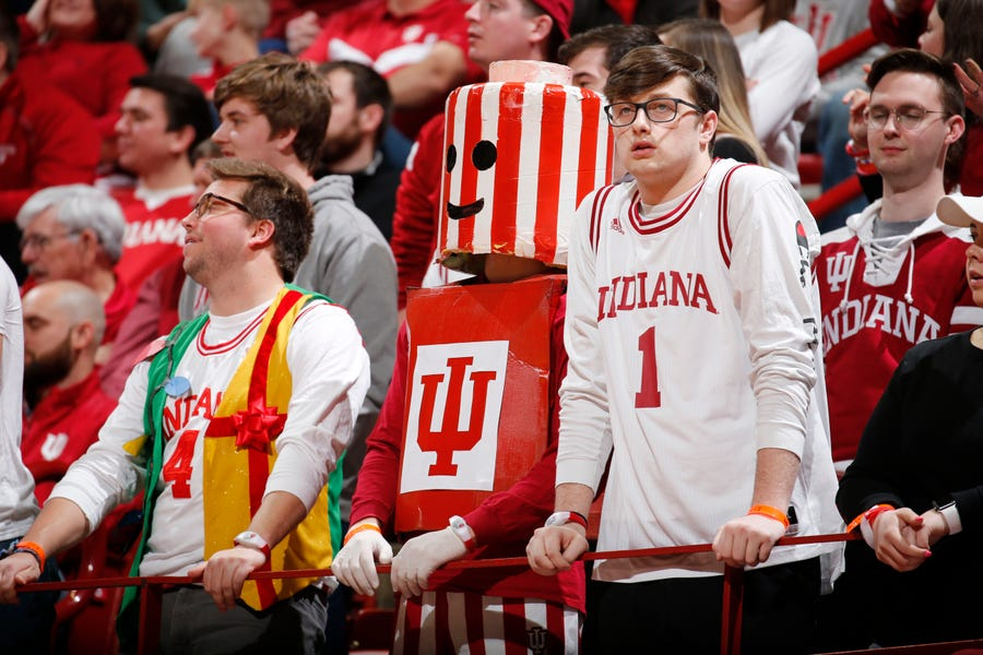 Indiana was left out of the NCAA tournament. Some blame the Big Ten's 20-game schedule. We blame their obsession with vertical stripes.