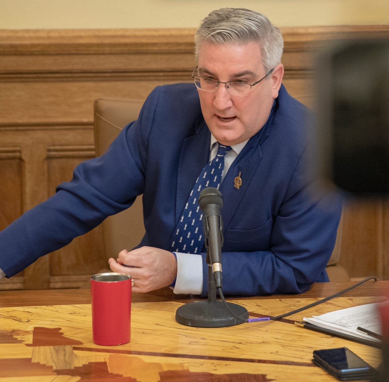 Hackney: Holcomb finally shows his true colors (red) in hate crimes debate
