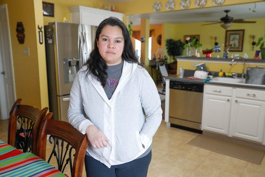 Belinda Velasquez, who's daughter Athena Velasquez is in remission after battling leukemia, lives in one of thirty some homes being tested for hazardous vapors rising from the soil due to decades-old contamination in the area on Wednesday, Feb. 27, 2019. Decades of old U.S. Environmental Protection Agency documents reveal that federal and state environmental regulators knew about site contamination for more than 30 years. Nearly 60 children in Johnson County have been diagnosed with rare forms of blood and brain cancer in the last 10 years, and almost half are in Franklin.