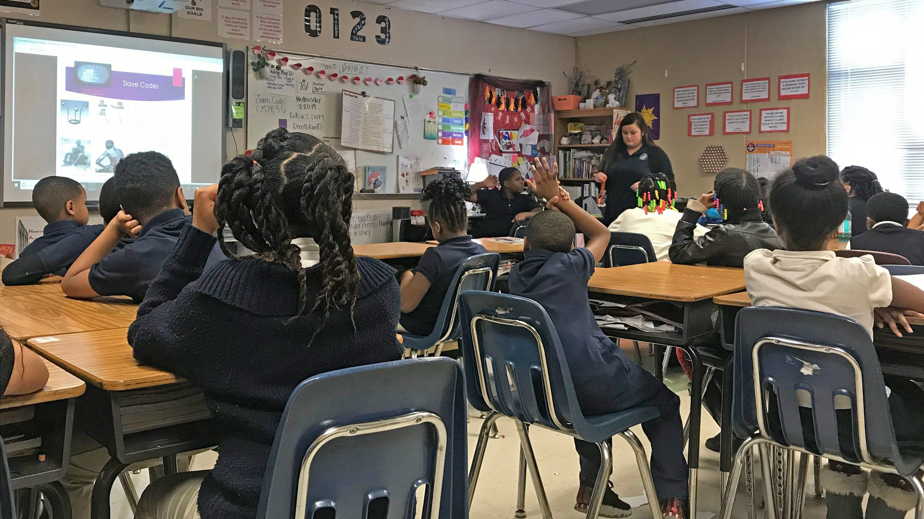 History of slavery is not taught very well in schools