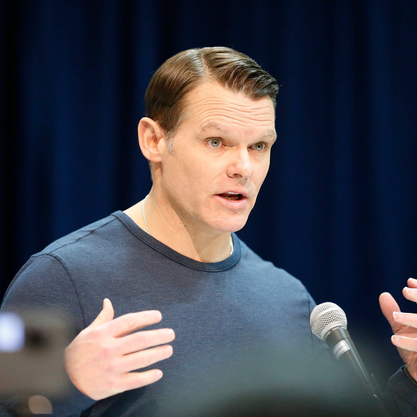 Chris Ballard breaks down Colts' free agency philosophy, recent visits