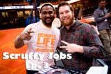 Scruffy Jobs Episode 3: Go behind the scenes to see how Thompson-Boling Arena is prepped for Tennessee Volunteers basketball games.