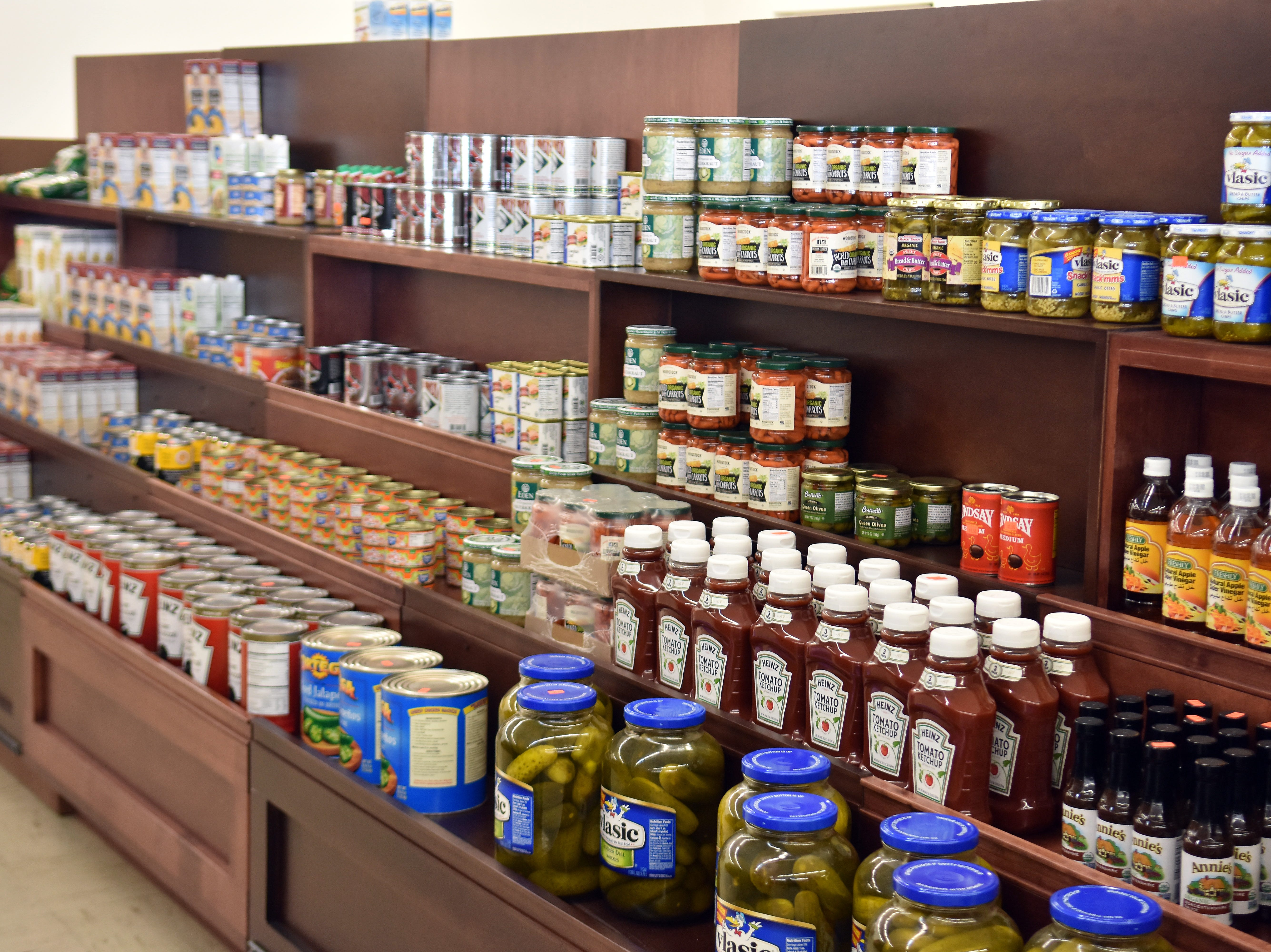 Lots of name brand food and bulk items  are in stock at Naturally a Deal.