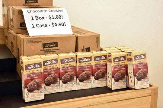 Gluten free cookies for $1 a box! Get them while in stock.