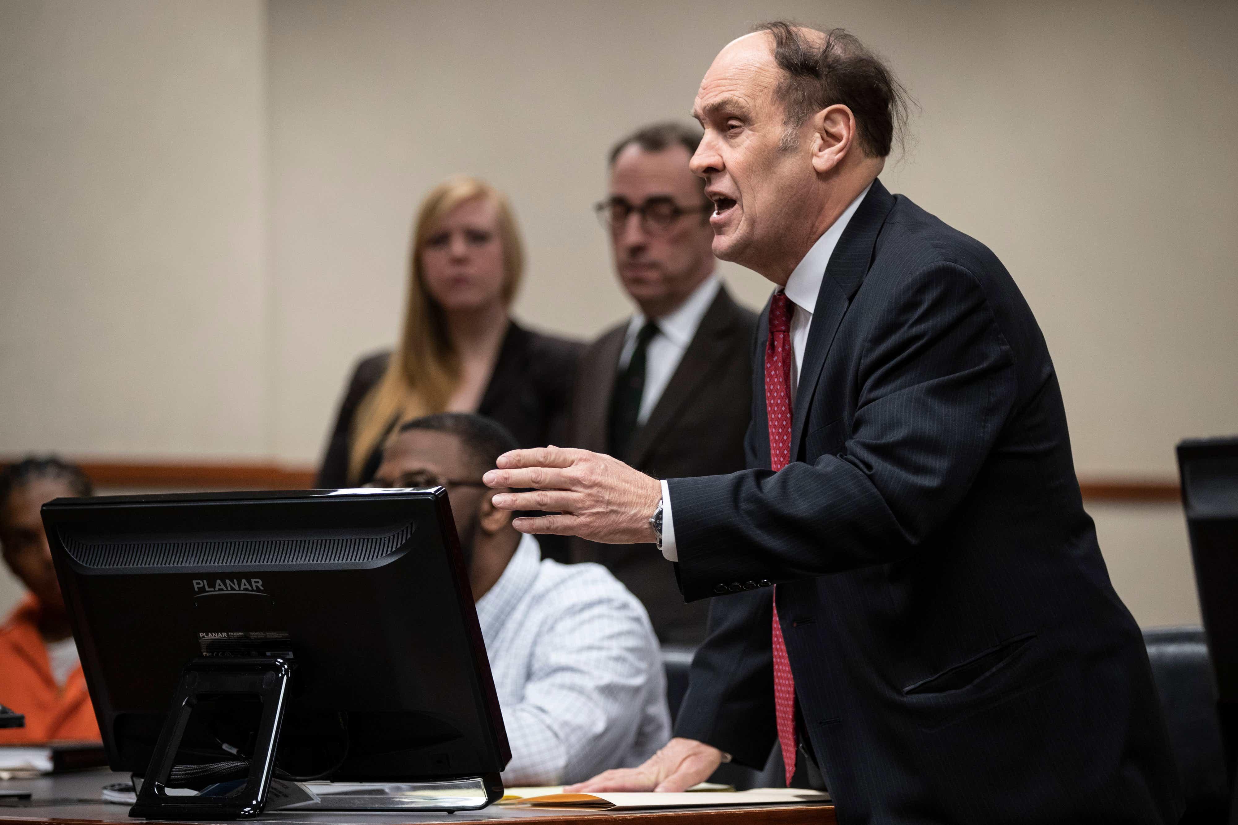 Watch famed Kentucky criminal defense lawyer Rob Eggert in action