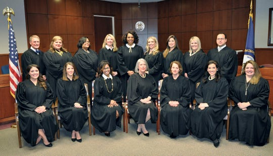 Women now how 15 of the 17 District Court judgeships in Jefferson County