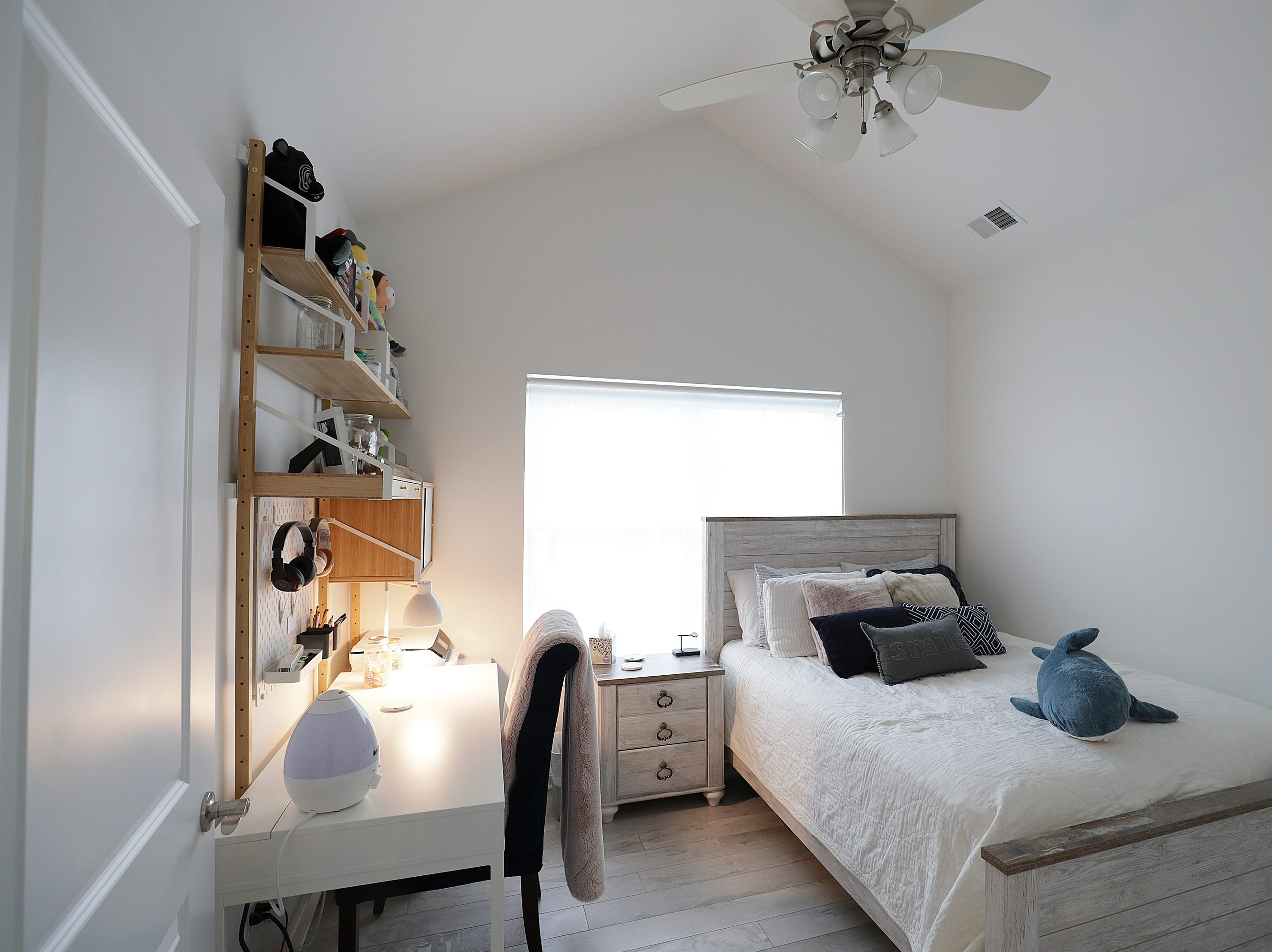 Allie's bedroom in the home of Michael and Andria Triplett.