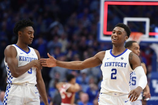 Image result for university of kentucky basketball 2019