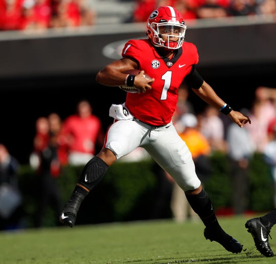 Georgia transfer Justin Fields will take the practice field as an Ohio State quarterback for the first time when spring drills open next week.