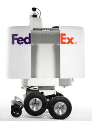 FedEx has unveiled the SameDay Bot, which will have a 100-pound payload.