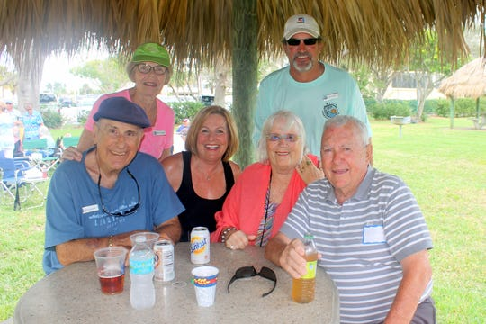 Phil and Marilyn Kostelnik, Nancy and Jim Tessmer, Jo and Doug Bailey