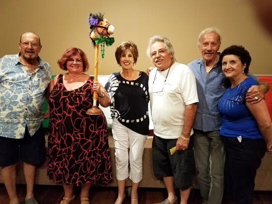 The Italian American Society held their yearly potLuck dinner and horse races on Feb. 19 at Rose Hall. A record 147 members and guests enjoyed an abundance of foods before turning their attention to the horses. Laughter and camaraderie prevailed throughout the evening.