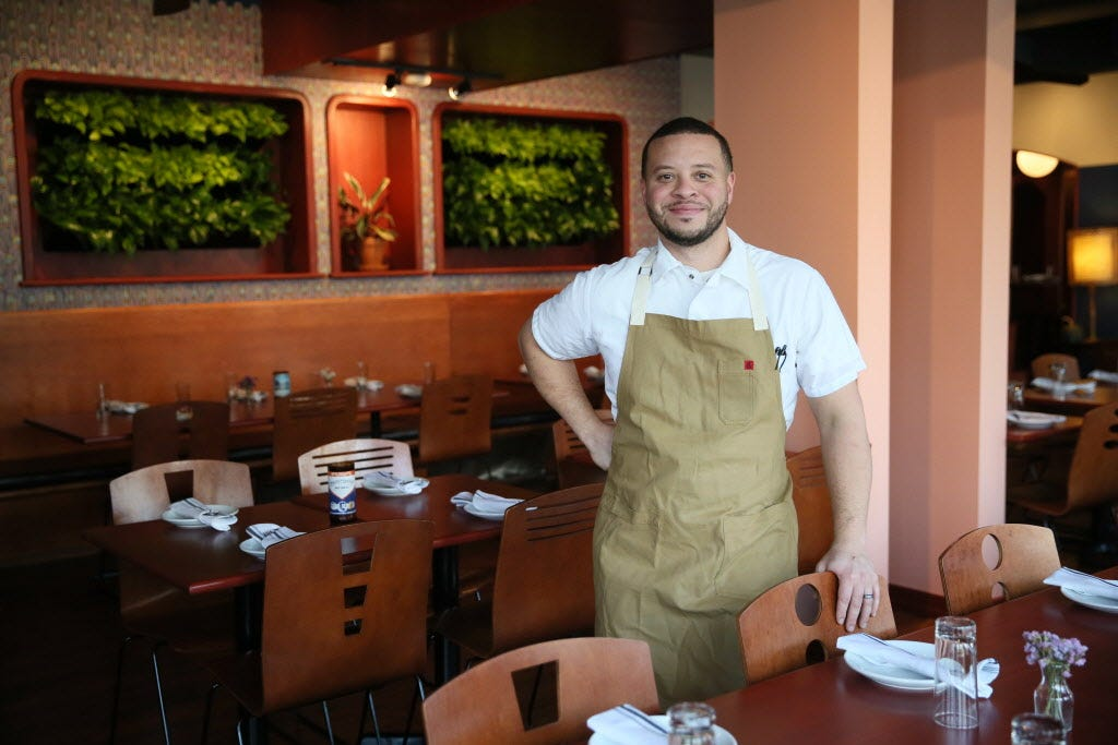 With The Diplomat on Brady St. temporarily closed during the pandemic, chef-owner Dane Baldwin is making breakfast every morning for his daughters.