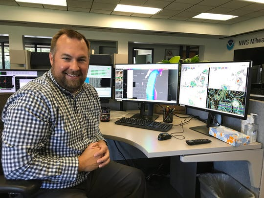 Tim Halbach is warning coordination meteorologist at the National Weather Service office in Sullivan.