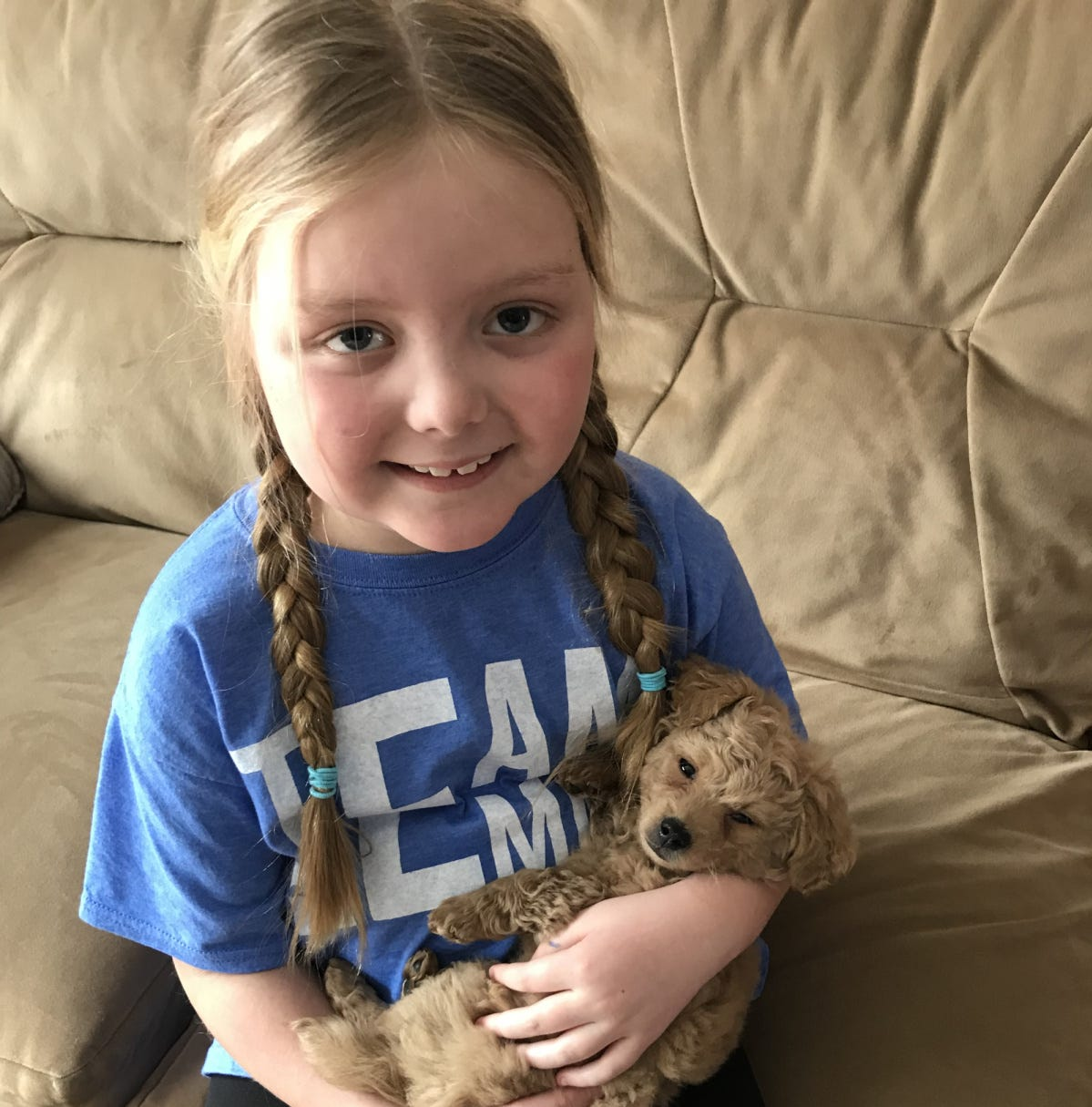 A terminally ill Hartland 7-year-old wanted a few dog pictures. She now has 50,000 — and counting.