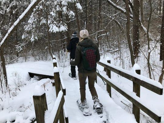 Retzer Nature Center in Waukesha has 5 miles of trails.