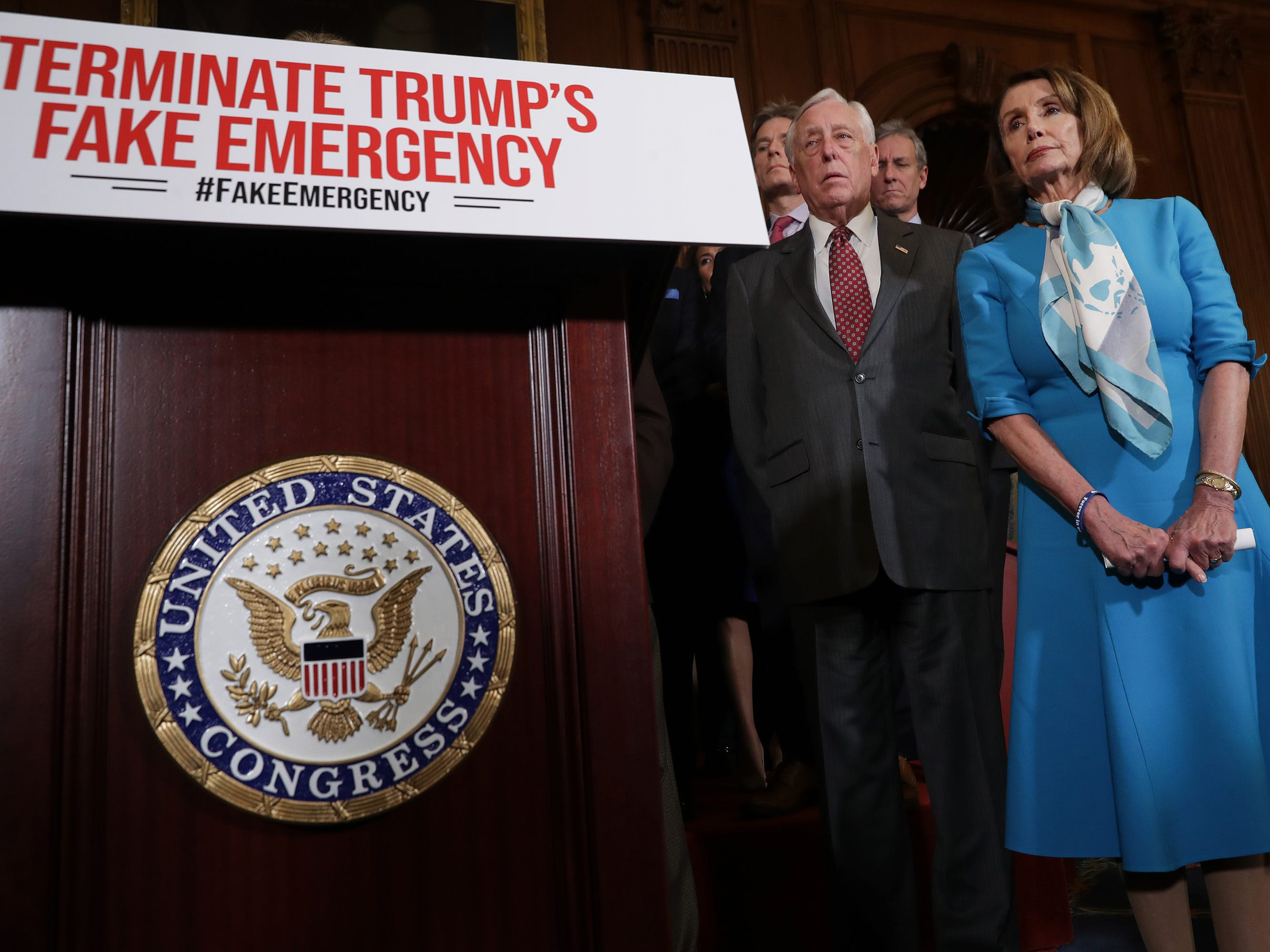 Wisconsin's Sensenbrenner and Gallagher among 13 House Republicans opposing Trump emergency declaration