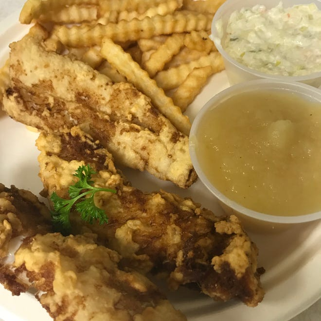 Fried cod is a common option at church and other nonprofit fish fries, but every fish fry is a little different. One has pierogi, another has smelt, for instance.