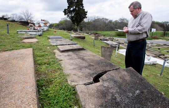 Westcott Cemetery in Montgomery, Ala. on Wednesday February 27, 2019.