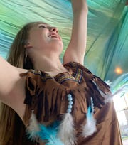 """Presented by Alabama River Region Ballet, """"Creek Indian Odyssey"""" is an original production of Alabama River Region Ballet."""