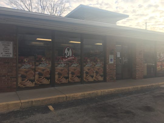 Aunt Millie's in Muncie at 101 W. Memorial Drive has closed for good, according to a sign posted on its door Tuesday, Feb. 26, 2019.