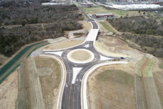 An extension on Legends Drive in Lebanon is now complete and open for traffic.
