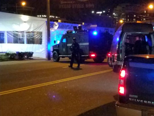 Metro Nashville police raided and padlocked the 1805 Ultra Lounge in Midtown early Wednesday morning, Feb. 27, 2019, citing violent and drug activity.