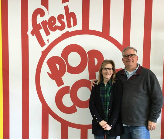 Jeff and Maryann Waddell, owners of the new Sweet Charlotte gourmet popcorn shop in Charlotte.