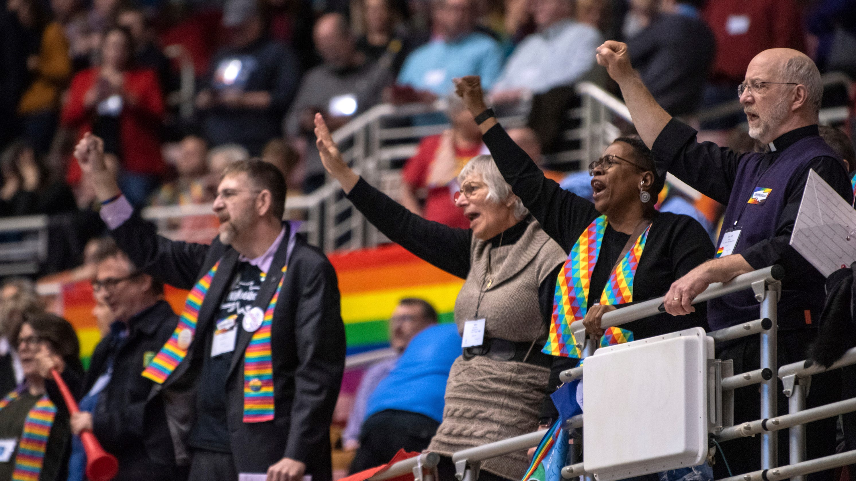 United Methodist Church rejects gay marriage; New England bishop prays for  LGBTQ inclusion