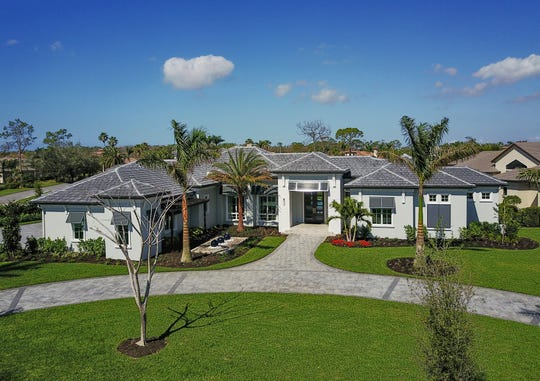 Southampton model in Quail West had an asking price of $3,750,000, furnished.