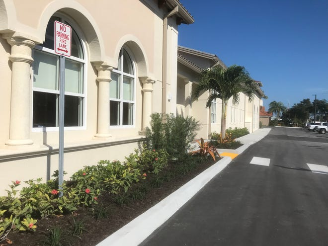 Exterior of an expansion of Neighborhood Health Clinic in Naples on Wednesday, Feb. 27, 2019.
