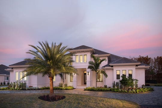 The Glendale is one of three furnished estate models that can be toured at Quail West.
