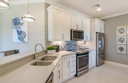 View of Cascadia kitchen.