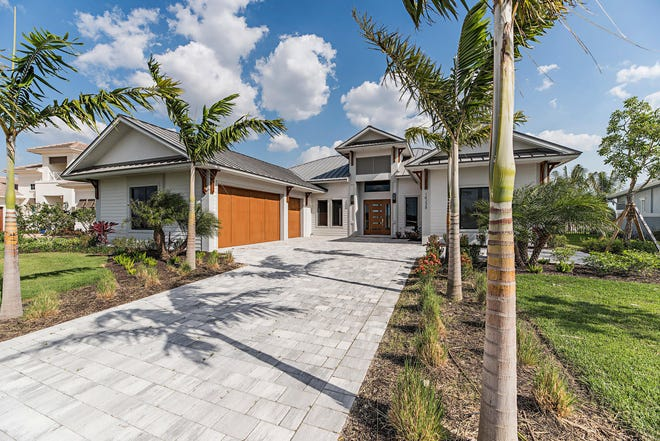 KTS Homes'  Newport model is located in Naples Reserve.