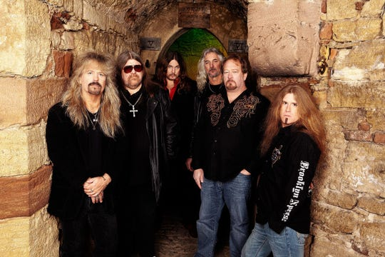 Molly Hatchet performs at 1 p.m. March 10 at the Space Coast Seafood Festival in Viera.