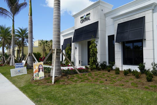 Eleven Eleven Central on-site sales center at 1101 Central Avenue in downtown Naples is open daily.