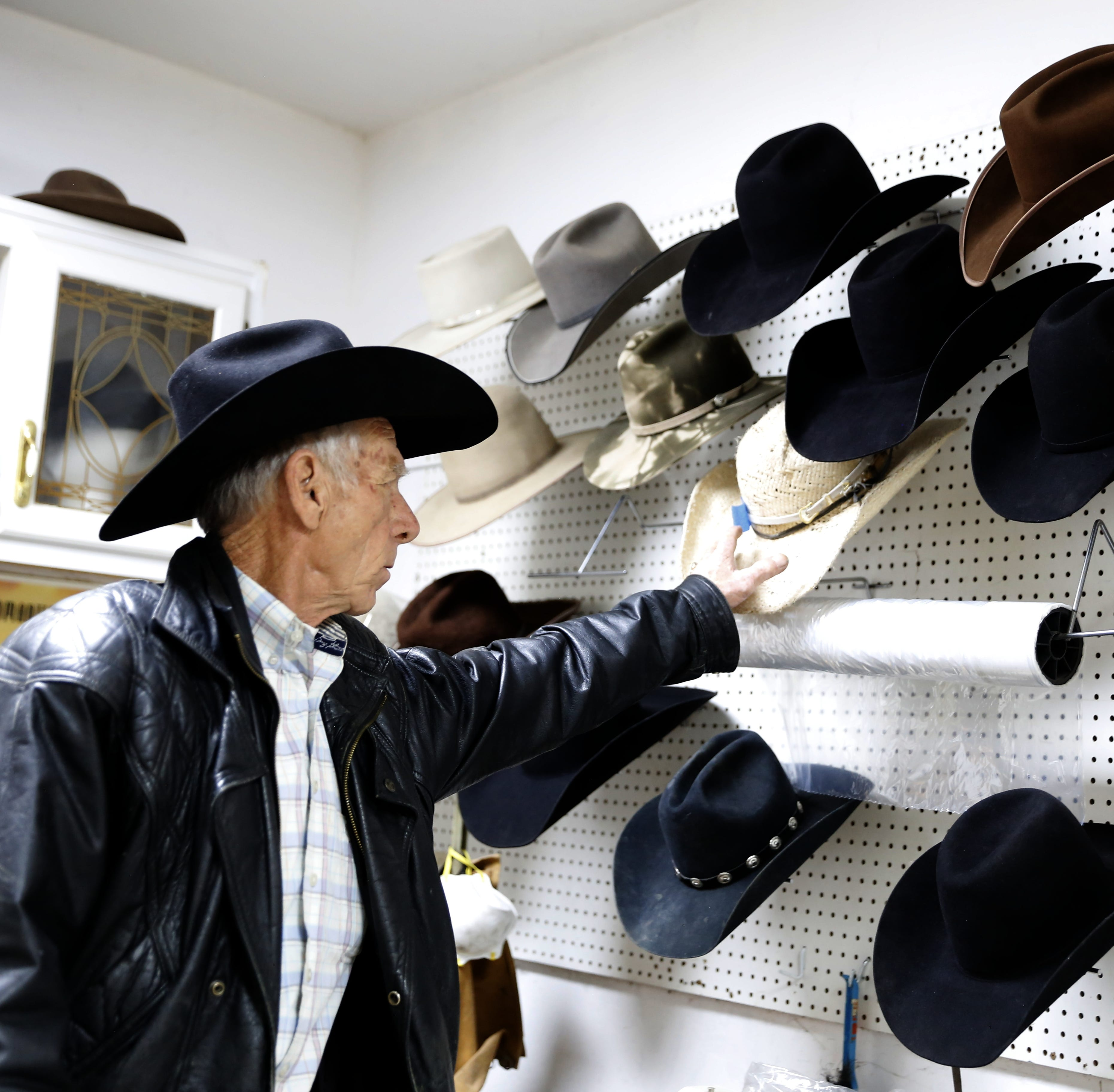 Fruitland resident makes cowboy hat for President Trump