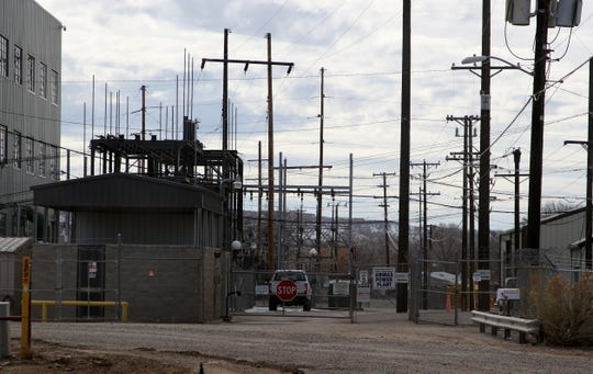 The Animas Power Plant is pictured, Wednesday, Feb. 27, 2019, in Farmington.