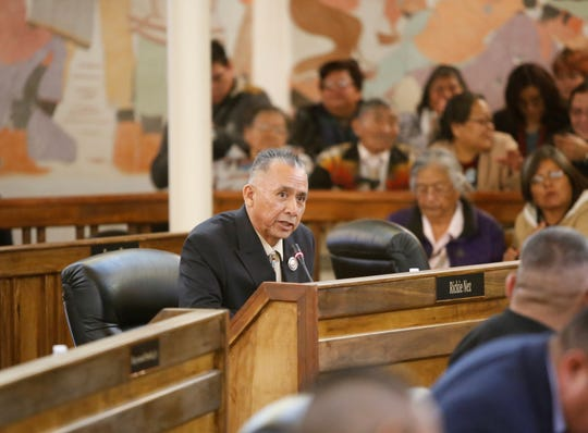Delegate Rick Nez was appointed chairperson for the Resources and Development Committee.