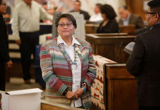 Delegate Eugenia Charles-Newton was selected chairperson for the Law and Order Committee.